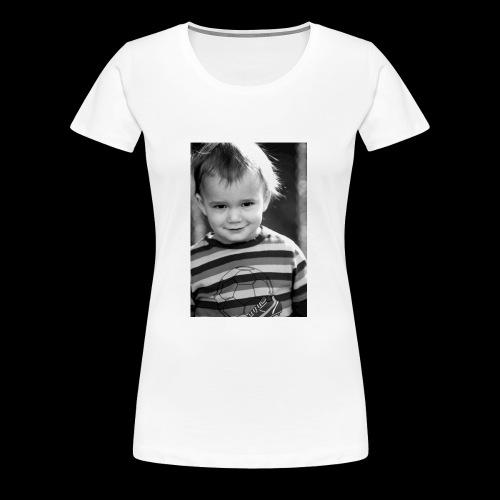 kleiner Junge - Frauen Premium T-Shirt
