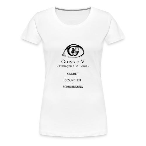 Guiss e.V - Frauen Premium T-Shirt