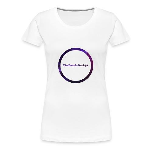 TheBearIsBack31 vrouw - Vrouwen Premium T-shirt