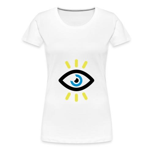 SYMBOLE OEIL OUVERT - T-shirt Premium Femme