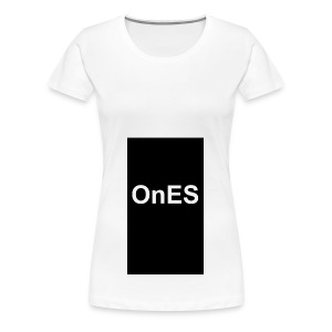 OnES Black - Frauen Premium T-Shirt
