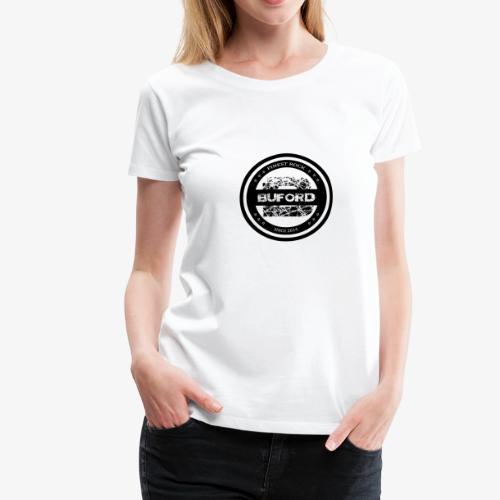 Buford Circle schwarz - Frauen Premium T-Shirt