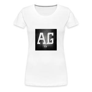 AGLOGO20-png - Vrouwen Premium T-shirt