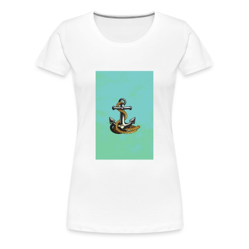 Ancla - Camiseta premium mujer