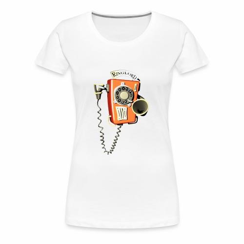 Ringlord Telefon Wandtelefon - Frauen Premium T-Shirt