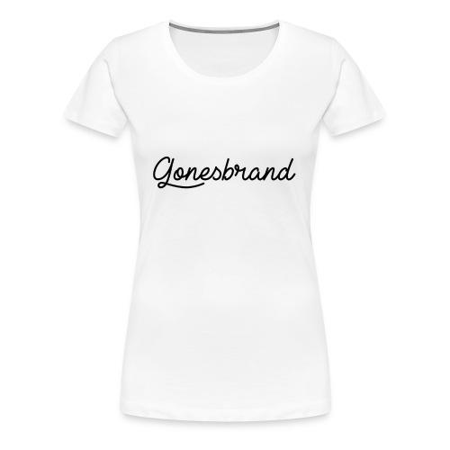 GonesBrand - T-shirt Premium Femme