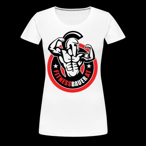 FitnessBauer von Max - Frauen Premium T-Shirt