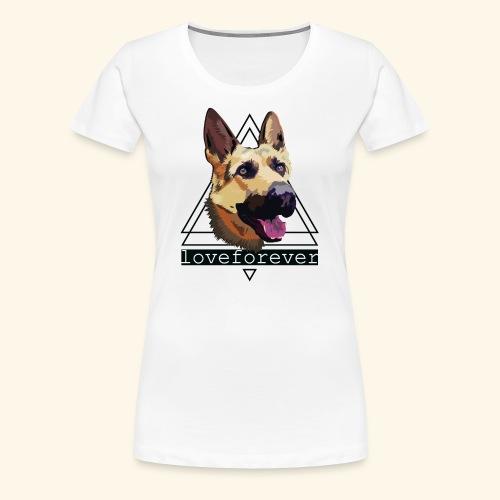 SHEPHERD LOVE FOREVER - Camiseta premium mujer