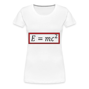 e = mc^2 - Women's Premium T-Shirt