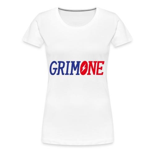 GRIMONE Logo - Frauen Premium T-Shirt