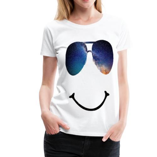 Smile-Glasses - Frauen Premium T-Shirt