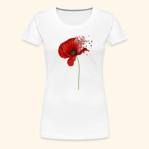 Klaproos - Vrouwen Premium T-shirt