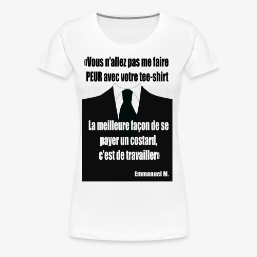 M et le tshirt - T-shirt Premium Femme