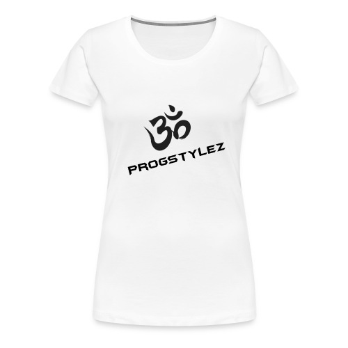 Progstylez Black Design - Frauen Premium T-Shirt