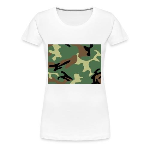 Camo_SJA - Women's Premium T-Shirt