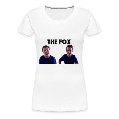 THE FOX - Deluxe Damesshirt - Vrouwen Premium T-shirt