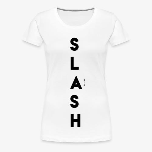 COLLEZIONE / S L A S H / DSN Invernale, verticale - Maglietta Premium da donna