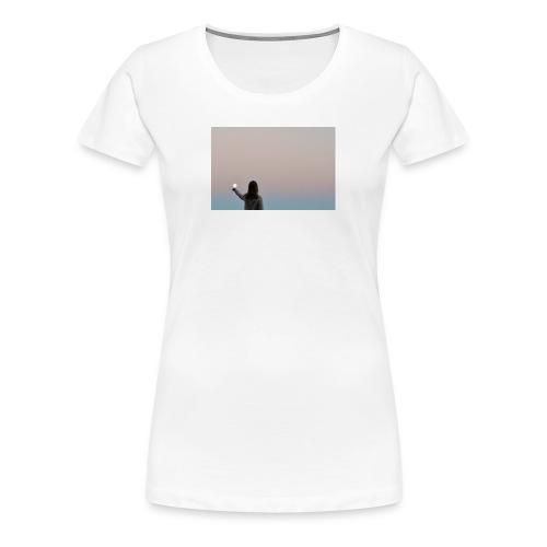MOON - Naisten premium t-paita