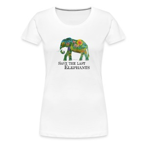 Save The Last Elephants - Frauen Premium T-Shirt