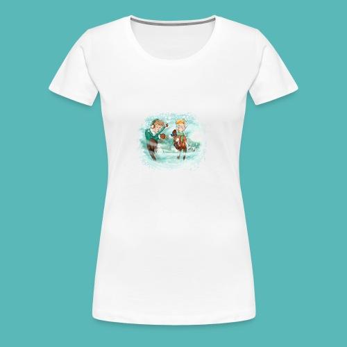 snow ball - Camiseta premium mujer