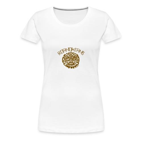 Roanokeans (croatoans t-shirt) - Premium-T-shirt dam