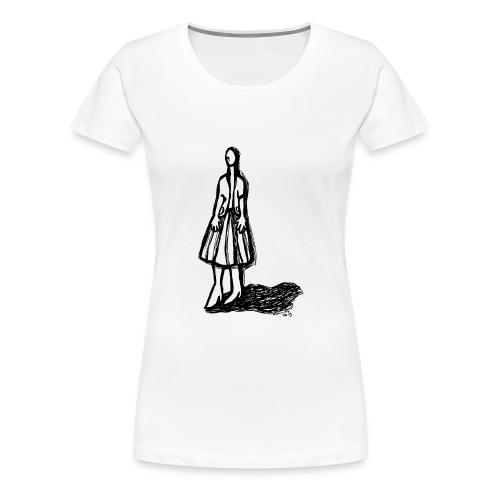 donna.moda.ritaglio - Maglietta Premium da donna