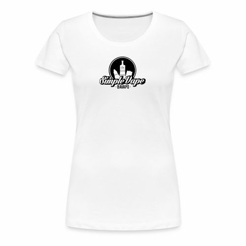 Simple Vape T-Shirt Women - Frauen Premium T-Shirt