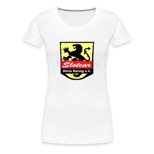 HR Logo Schwarz (für alle Hintergründe) - Frauen Premium T-Shirt