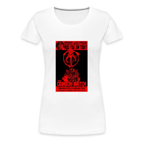Crimson recruit tee - Women's Premium T-Shirt