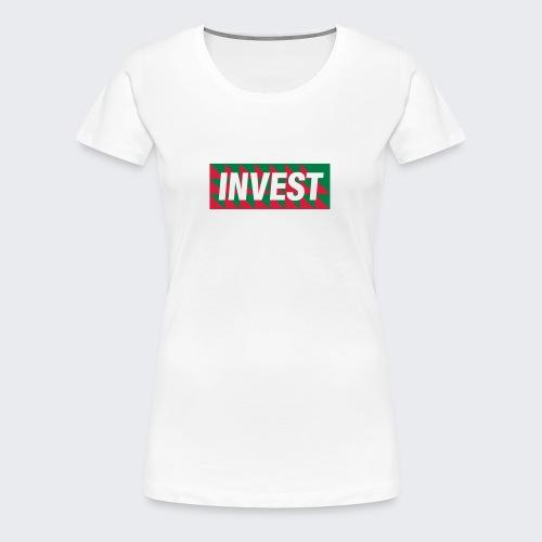 Invest - Frauen Premium T-Shirt