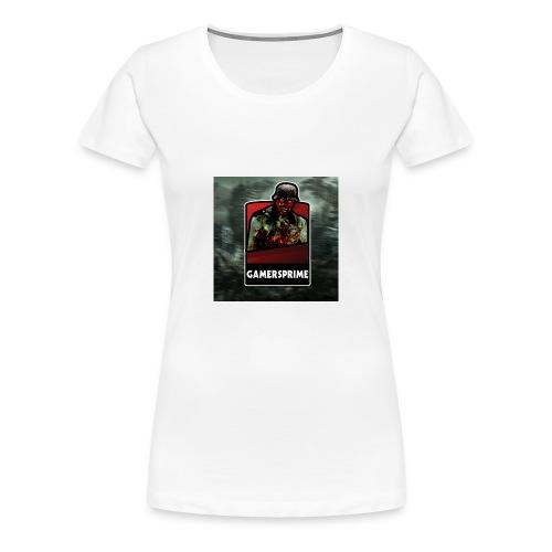 GamersPrime Logo - Premium T-skjorte for kvinner