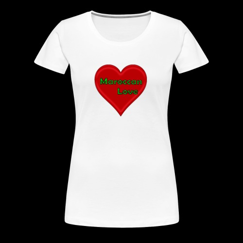 Maroccan_Love Original - Frauen Premium T-Shirt