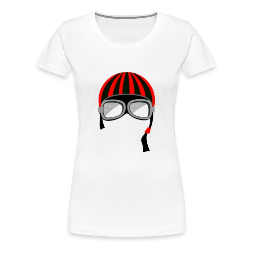 red_helmet-png - Maglietta Premium da donna