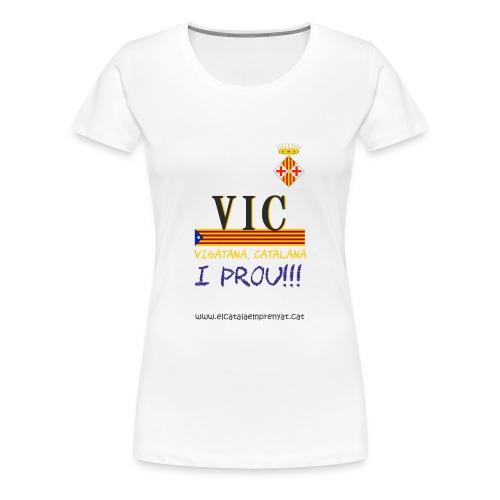 vic dona - Camiseta premium mujer