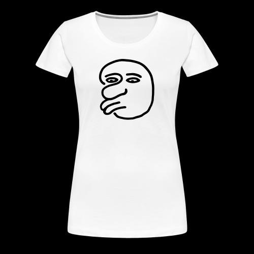 AgainstHumanityface - Frauen Premium T-Shirt