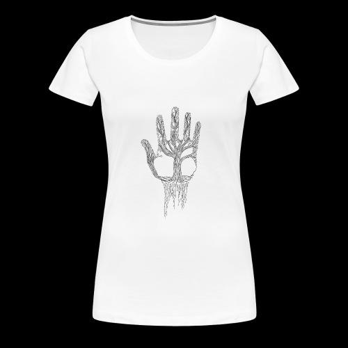 lignes de vie - T-shirt Premium Femme