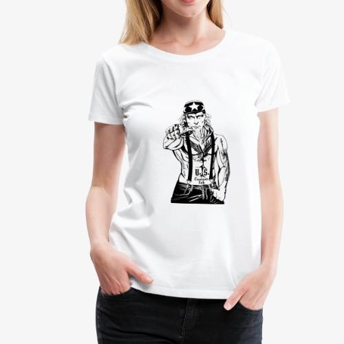 rebelle atitude - T-shirt Premium Femme