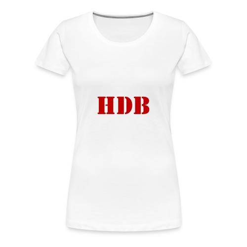 HDB t-shirt - Vrouwen Premium T-shirt