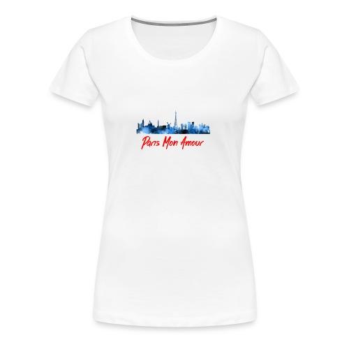 Paris Fashion Design Back - T-shirt Premium Femme