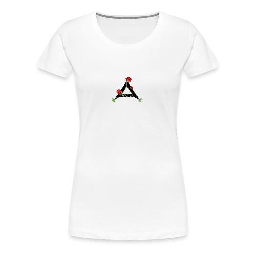 Ace flower - Vrouwen Premium T-shirt