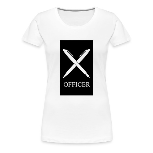 OFFICER - Frauen Premium T-Shirt