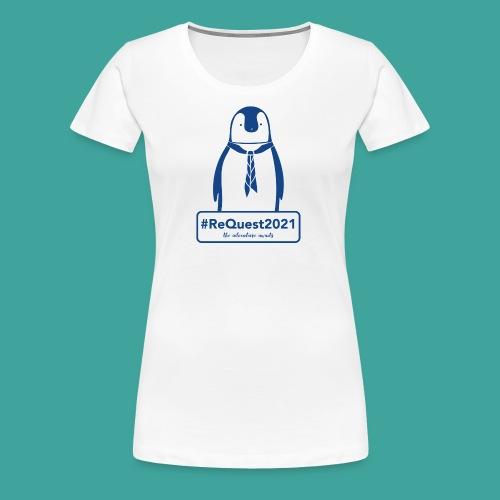 Kent Scouts #ReQuest2021 Antarctica Expedition - Women's Premium T-Shirt