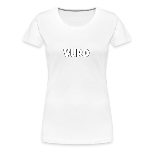 Vurd Clothing - Premium-T-shirt dam