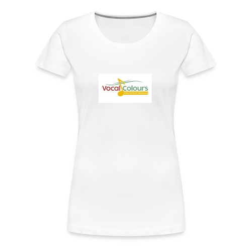 Vocal Colours Chorfestival Hamburg - Frauen Premium T-Shirt