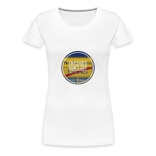 no excuses - Frauen Premium T-Shirt