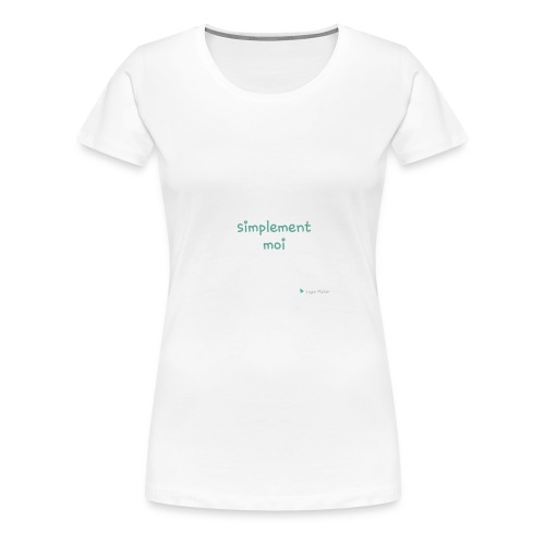 Simplement moi bio - T-shirt Premium Femme