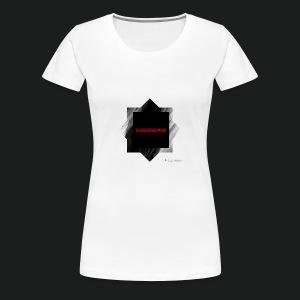 New logo t shirt - Vrouwen Premium T-shirt