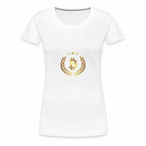 Bitcoin Glory - Frauen Premium T-Shirt