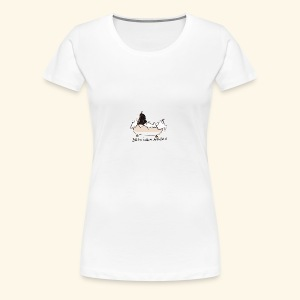 Basil in the bath - Women's Premium T-Shirt