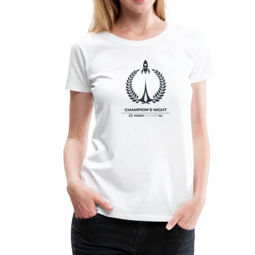 Champion's Night Signature - Black - Frauen Premium T-Shirt